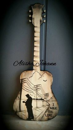 Arts And Crafts Style House Tribal Tattoos, Tattoos Skull, Wooden Craft Shapes, Wooden Crafts, Wooden Alphabet, Wood Letters, Sand Crafts, Diy Crafts, Guitar Decorations