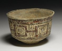 Indus Valley Bi-Chrome Pottery Cup