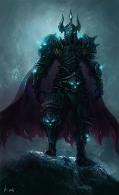 My favorite class artwork (Death Knight). Post some of your favorites - any class goes.