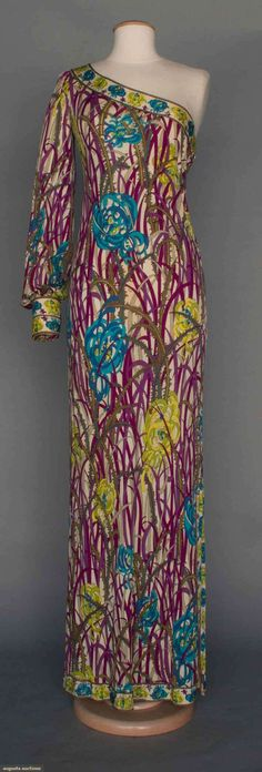Pucci Evening Gown, 1970s, Augusta Auctions, April 9, 2014 - NYC, Lot 277
