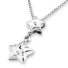 IAD  14K/585 White Gold 3Dimensional Diamond Cut by IADJewellery, $192.00