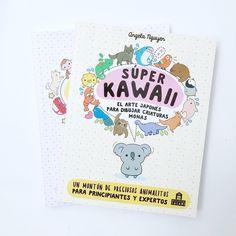 """Nuestra colección de libros para dibujar #kawaii crece con """"Super Kawaii. El arte japonés para dibujar criaturas monas"""" de @pikarar y editado por @magazzinisalanies.⠀ .⠀ Nosotras ya teníamos el primer volumen en donde hay un montón de consejos, ejemplos y técnicas para dibujar kawaii con paso a paso de diferentes temáticas.⠀ .⠀⠀ Las explicaciones son muy visuales y sencillas por lo que es apto para los más peques, pero también es muy útil para los más mayores e incluso para adultos :)… Kawaii, Instagram, Cover, Japanese Art, Tips, Libros, Kawaii Cute, Blanket"""
