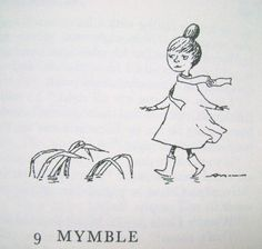 """Mymble from """"Moominvalley in November"""":  The boots, the dress, the hair -- perfect!"""