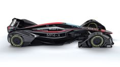 Electrodes in the surface of the car's wings electronically control the McLaren MPX-4's aerodynamics