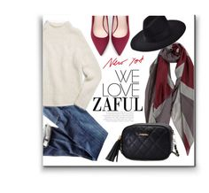 """""""ZAFUL"""" by monmondefou ❤ liked on Polyvore featuring Citizens of Humanity, Zara and Theory"""