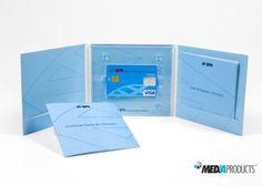 Digipack de 6 páginas, para cartão de crédito, produzido para o BPN.