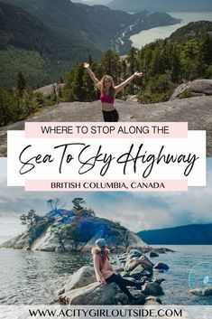 The Sea to Sky Highway is one of Canada's most scenic drives. Check out the best places to stop along the Sea to Sky Highway on a road trip! Sea to Sky Highway Vancouver Travel, Vancouver Island, Visiting Niagara Falls, Sea To Sky Highway, Travel Destinations, Travel Tips, Travel Guides, Rv Travel, Travel Stuff