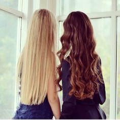 Straight & Curls