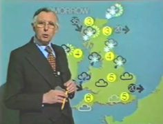 Magnetic weather maps - I used to  love watching for the things come slowly unstuck and drop off behind the presenter.