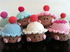 Vrolijke cupcakes voor actie Schoenmaatjes
