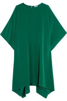 Issa Miley silk poncho | THE OUTNET