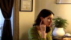 Self-Help Ear Reflexology for Back Pain - The Barefoot Dragonfly Ear Reflexology, Homeopathy, Back Pain, Self Help, Self Care, Hair Styles, Barefoot, Youtube, Beauty