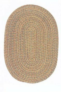 """Oval Adams Style Braided Rug in Taupe Mix (Taupe) (.5""""H x 60""""W x 96""""D) by Colonial Mills. $294.00. Size: .5""""H x 60""""W x 96""""D. Oval Cut. Versatile. Color: Taupe. Reversible. Whether family room or kitchen, bedroom or bath, dinning room or patio, braided rugs offer a dazzling array of color and design possibilities. In fact, top decorators are discovering the versatility of these braided rugs, which combine traditional craftsmanship with the latest trends in home fashion. This Adam..."""