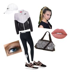 """""""Nike"""" by emmatraynor on Polyvore featuring NIKE and Lime Crime"""