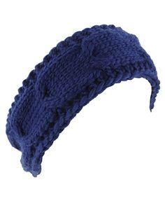 Cable Knit Headband - StyleSays