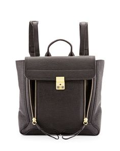 Pashli Leather Zip Backpack, Black by 3.1 Phillip Lim at Neiman Marcus.