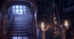 Played around with contrast between cosy/warm and spooky/cool feelings with this one. Rendered in Unreal Engine.