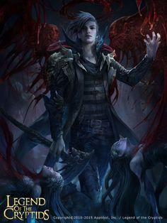 Artist: Thitipon Dicruen aka xric7 - Title: Unknown - Card: Bloodwing Gillel