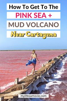 If you're sick of tours and Tripadvisor being the only suggestion on how to get to the pink sea and mud volcano, read on. Especially if you want to have these places all to yourself to get photos with only you in them. #mudvolcano #pinksea #cartegena