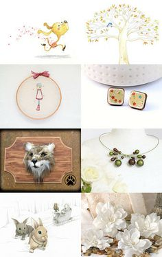 woodland gathering by Melanie on Etsy--Pinned with TreasuryPin.com