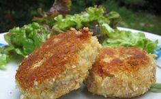 Les gourmandises d'Isa: CROQUETTES DE JAMBON Pork Recipes, Healthy Recipes, Les Croquettes, Kids Meals, Baked Potato, Tapas, Muffin, Brunch, Food And Drink