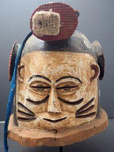 PC183393 d Janus helmet mask, Igala people, Nigeria. WA02531 | by ann porteus, Sidewalk Tribal Gallery