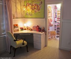 Little girls room eclectic