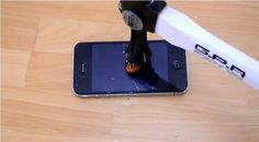 Watch This iPhone Survive A Literal Hammer Blow Thanks To Magical Screen Protector