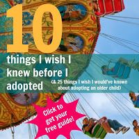 From the Heart of Rachelle D. Alspaugh: Let's talk about adopting an older child