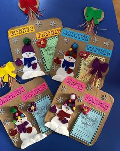 Kaydederken beenmeyi unutmayalm ltfen Reposted from birdunyaetkinlikk - New Years Decorations, Christmas Decorations To Make, Diy And Crafts, Crafts For Kids, Arts And Crafts, Christmas Snowman, Christmas Crafts, Snowman Costume, Christmas Costumes
