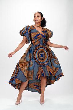 Ankara Dress Styles, African Print Dresses, African Dresses For Women, African Print Fashion, Africa Fashion, African Wear, African Attire, African Women Fashion, African Prints