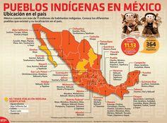 México cuenta con más de 11 millones de habitantes indígenas:   18 Infografías que te harán cambiar la forma de ver a México