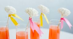 Diy Drink Stirrer | Balsa Wood Flower Stirrers