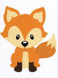vector woodland animals clipart de 20 morceaux mis par urbanwillow rh pinterest com cute forest animal clipart forest animal clip art free