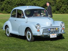 1967 Morris Minor 1000 2 door ... picture this in Root Beer brown with a vanilla top with Chevy Vega GT wheels... an absolute blast to drive...