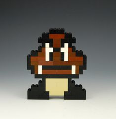 Lego Goomba by BrickBum
