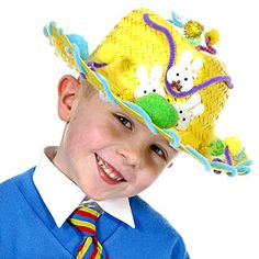 Make Your Own Easter Bonnet: Boy