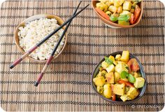 pineapple tofu curry