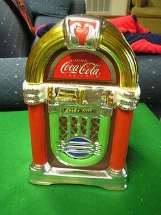Great Collectable COCA COLA Juke Box COOKIE JAR