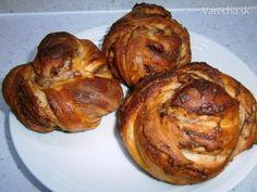 Orechovo-nutellové briošky (fotorecept)