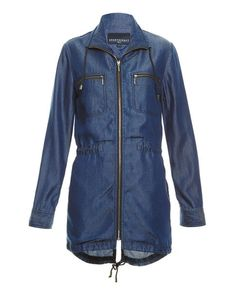 Sewaholic minoru jacket inspiration: Sportscrat Mia Relaxed Jacket, INDIGO