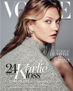 Karlie Kloss by Chris Colls for Vogue Mexico October 2016 3 Covers