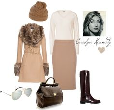 """""""Carolyn Bessette Kennedy"""" by carchaney ❤ liked on Polyvore"""