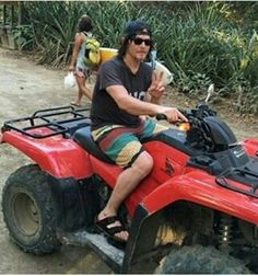 Norman Reedus in Costa Rica, January 2016.