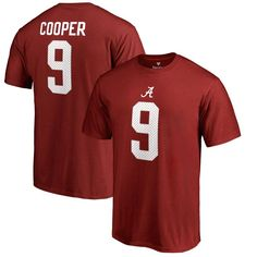Amari Cooper Alabama Crimson Tide Fanatics Branded College Legends Name & Number T-Shirt - Crimson