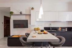 Modern, minimal, open space kitchen  bahome.bnb@gmail.com