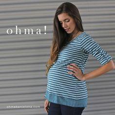 """www.ohmabarcelona.com #ropapremama #ropamaternidad #ropaembarazo #embarazo #embarazada #maternitywear #maternitystyle #pregnant #pregnancy #ohmabarcelona"""