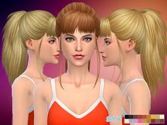 Hairstyles: Skysims-Hair-217-Aimee from The Sims Resource • Sims 4 Downloads