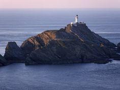 Muckle Flugga and its Lighthouse, Hermaness Nature Reserve, Unst, Shetland Islands, Scotland (by Patrick Dieudonne)