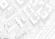 Concealing the corporate identity through the built definition of an urban fracture. Nora Nilsen
